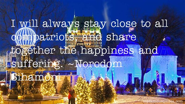 Norodom Sihamoni Quotes