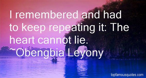 Obengbia Leyony Quotes