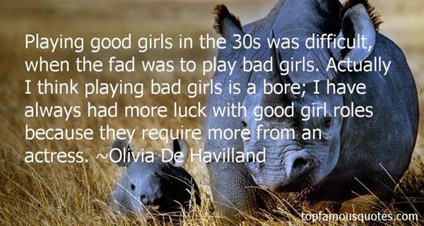Olivia De Havilland Quotes
