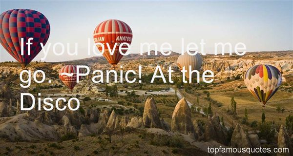 Panic! At The Disco Quotes