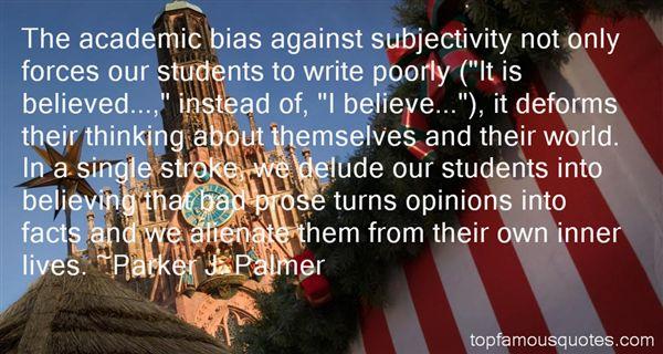 Parker J. Palmer Quotes