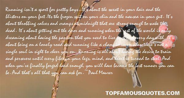 Paul Maurer Quotes