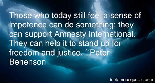 Peter Benenson Quotes