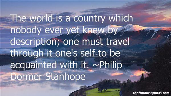 Philip Dormer Stanhope Quotes