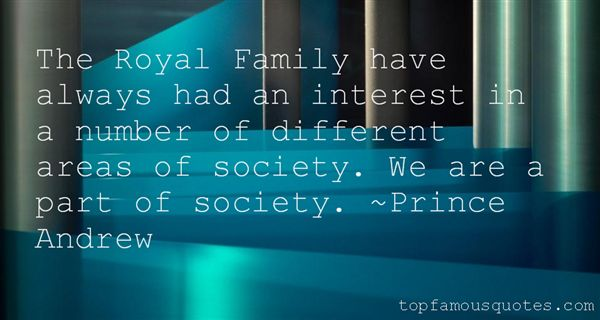 Prince Andrew Quotes