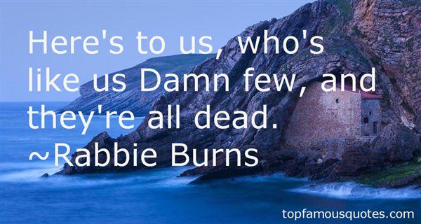 Rabbie Burns Quotes