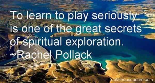 Rachel Pollack Quotes