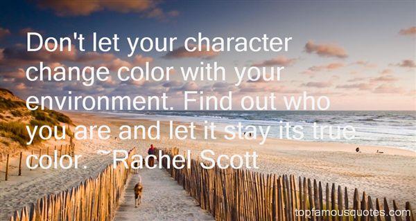 Rachel Scott Quotes