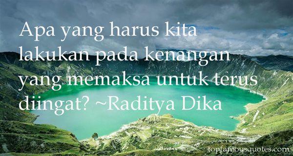 Raditya Dika Quotes