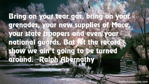 Ralph Abernathy Quotes