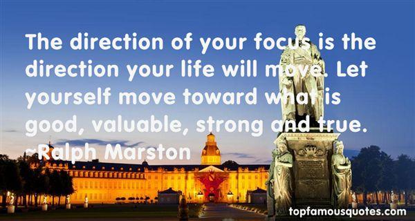 Ralph Marston Quotes