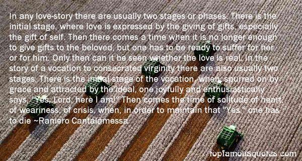 Raniero Cantalamessa Quotes