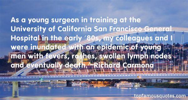 Richard Carmona Quotes