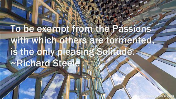 Richard Steele Quotes