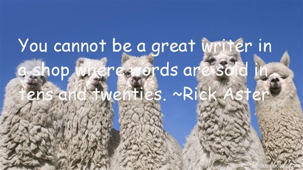 Rick Aster Quotes