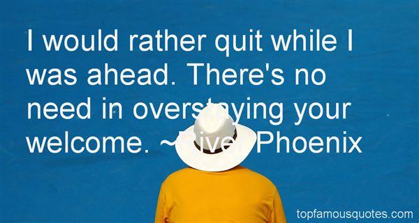 River Phoenix Quotes
