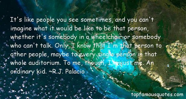RJ Palacio Quotes