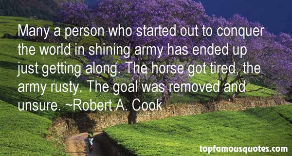 Robert A. Cook Quotes