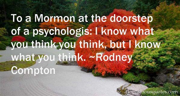Rodney Compton Quotes