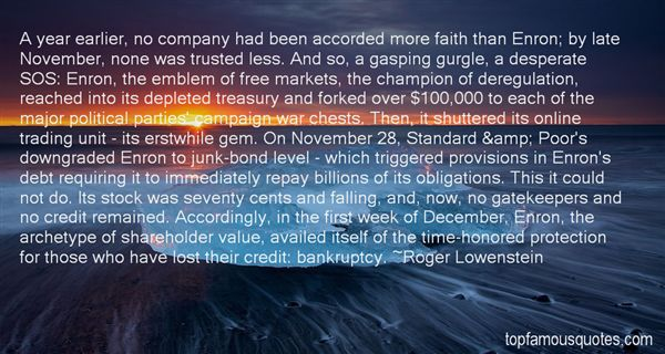 Roger Lowenstein Quotes