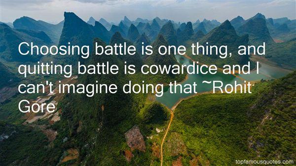 Rohit Gore Quotes