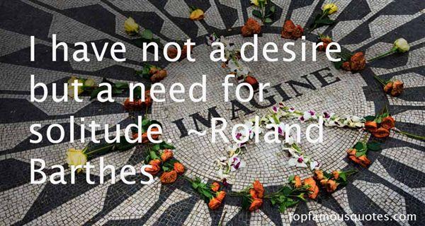 Roland Barthes Quotes