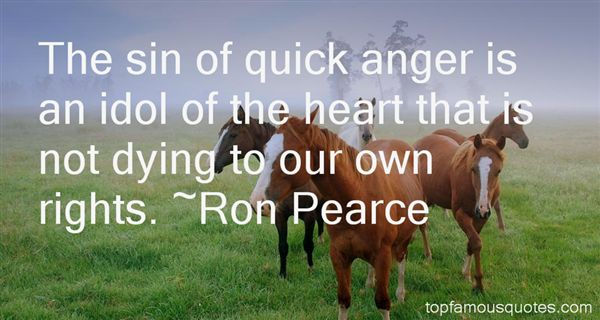 Ron Pearce Quotes