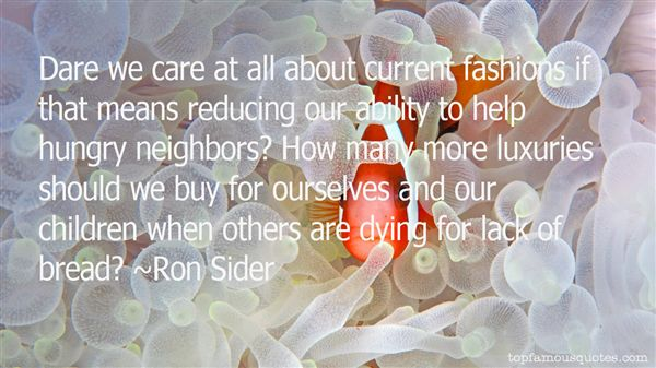 Ron Sider Quotes