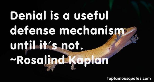 Rosalind Kaplan Quotes