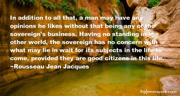 Rousseau Jean Jacques Quotes