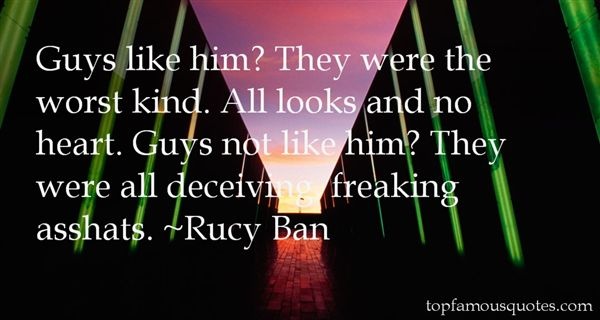 Rucy Ban Quotes