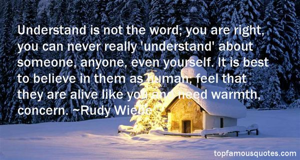 Rudy Wiebe Quotes