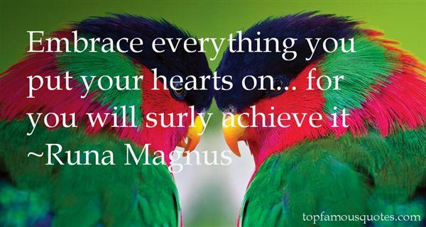 Runa Magnus Quotes