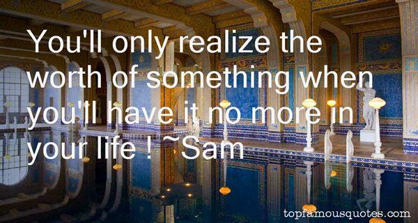 Sam Quotes