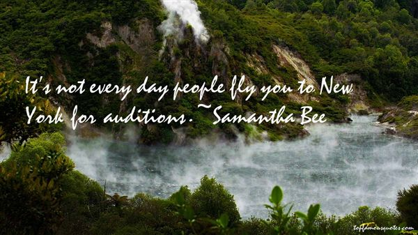 Samantha Bee Quotes