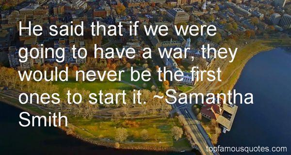 Samantha Smith Quotes