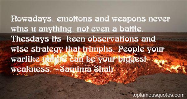 Samima Shah Quotes