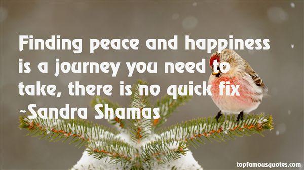 Sandra Shamas Quotes