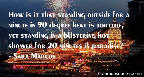 Sara Marcus Quotes