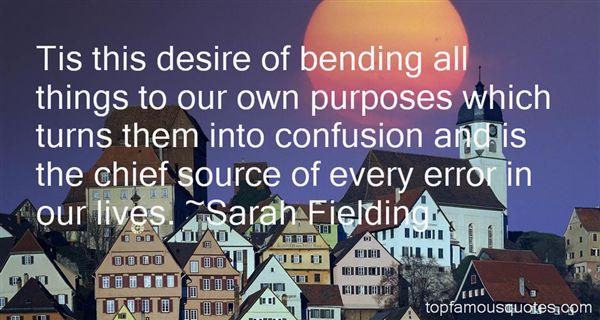 Sarah Fielding Quotes