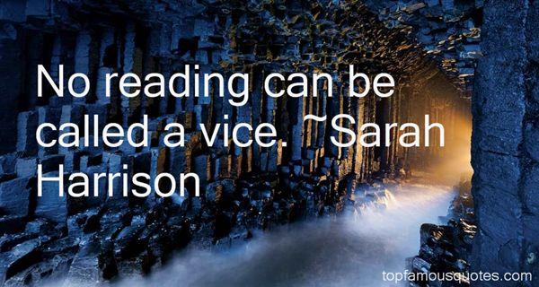 Sarah Harrison Quotes