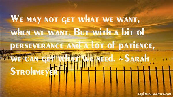 Sarah Strohmeyer Quotes