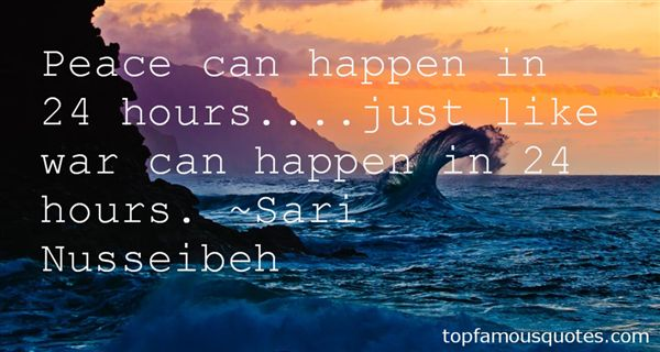 Sari Nusseibeh Quotes