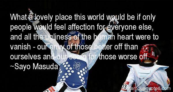 Sayo Masuda Quotes