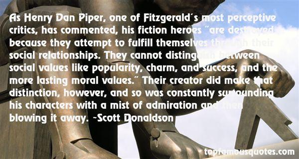 Scott Donaldson Quotes