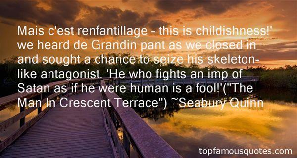 Seabury Quinn Quotes