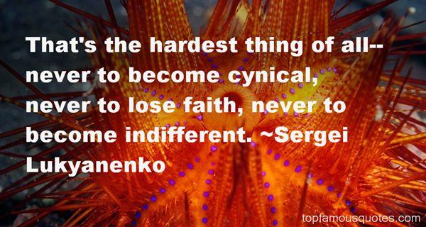 Sergei Lukyanenko Quotes