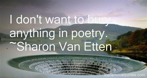 Sharon Van Etten Quotes