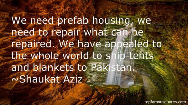 Shaukat Aziz Quotes