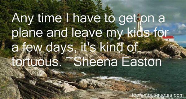 Sheena Easton Quotes
